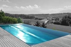 Contruction de piscine haut de gamma Haute Savoie