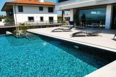 Pose de liner piscine Chamonix