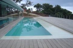Pose de liner piscine Megeve